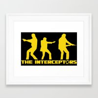 top gear Framed Art Prints featuring The Interceptors - Top Gear by not-the-stig