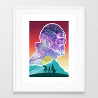 starlord Framed Art Prints featuring Starlord...Who? by DamianSantamaria