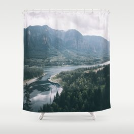 Columbia River Gorge IV Shower Curtain