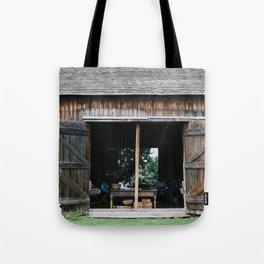Barn at Hurd Orchards Tote Bag