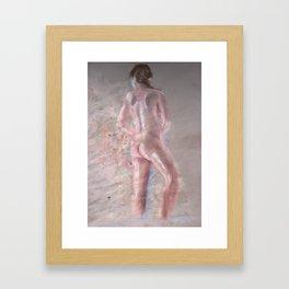 Brash Divinity  Framed Art Print
