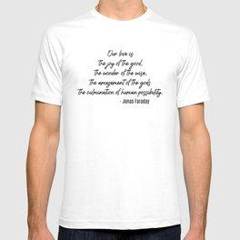 Jonas Faraday T-shirt