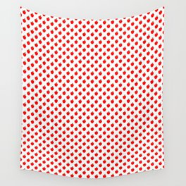 Red Apple Fruit Food Pattern Wall Tapestry