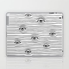 PEEPING TOM [BLK & WHT] Laptop & iPad Skin