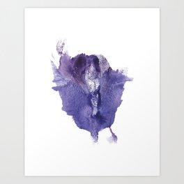 Allie's Vagina Monotype No.2 Art Print