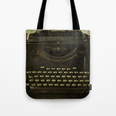 Smith & Corona Vintage Typewriter Tote Bag