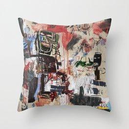 Crazy Crazy Throw Pillow