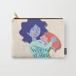 Colorful Portrait Carry-All Pouch
