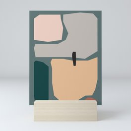 // Shape study #20 Mini Art Print