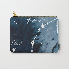 Scorpius Zodiac Constellation Carry-All Pouch