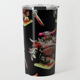 scarred pekka Travel Mug