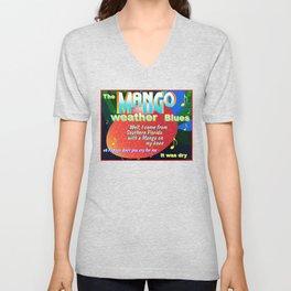 MANGO WEATHER BLUES Unisex V-Neck