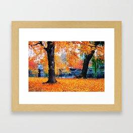 Boston, Panorama Framed Art Print