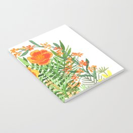 California Poppy Notebook