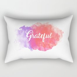 Grateful Rectangular Pillow