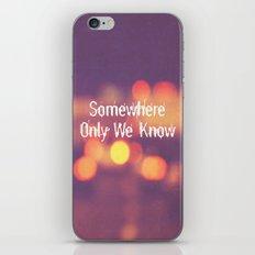 Somewhere II iPhone & iPod Skin