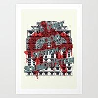 Soundsystem Art Print