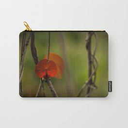 Round Leaf Carry-All Pouch