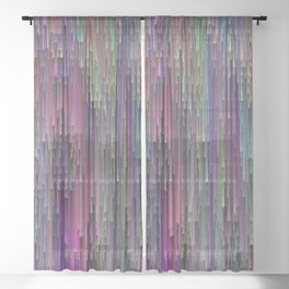 Acid Rain Sheer Curtain