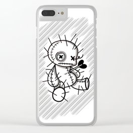 Love hurts Clear iPhone Case