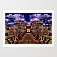 Medieval Fortress Kalemegdan Belgrade Art Print