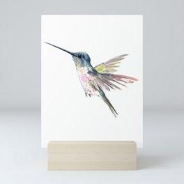 Flying Little Hummingbird Mini Art Print