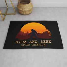 Bigfoot - Hide and Seek World Champion Rug