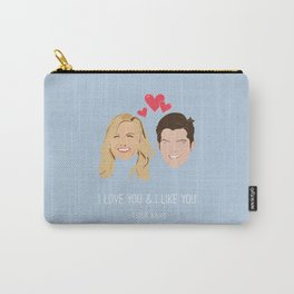 Leslie Knope Loves Ben Wyatt Carry-All Pouch