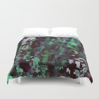 acid Duvet Covers featuring Acid by MonsterBrown
