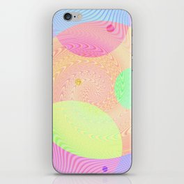 Re-Created Twisters No. 3 by Robert S. Lee iPhone Skin