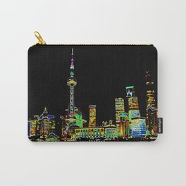 Shangai Colors Carry-All Pouch