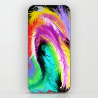 hot fuzz iPhone & iPod Skins featuring Fuzz by Cameron A