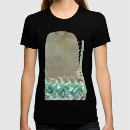 into the wild the whale T-shirt