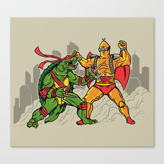 Teenage Mutant Gamera Ninja Canvas Print