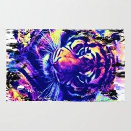 colorful Tiger Rug