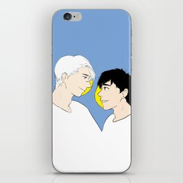 victuuri gold - yuri on ice iPhone Skin