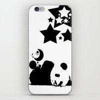 sleep iPhone & iPod Skins featuring Sleep by Panda Cool