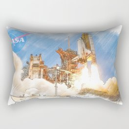 NASA Space Shuttle Rectangular Pillow