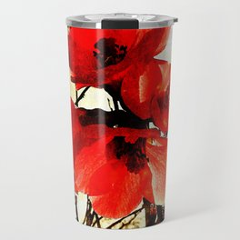 Spring Red 3, Royal Botanical Gardens - Melbourne Travel Mug