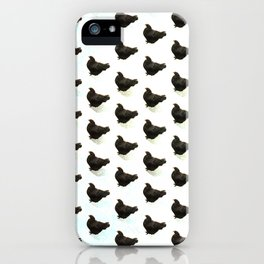 Chickens 05 iPhone Case