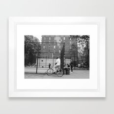 New York Basketball III Framed Art Print