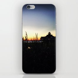 Lighthouse at Sunset iPhone Skin
