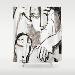 The Protector Shower Curtain