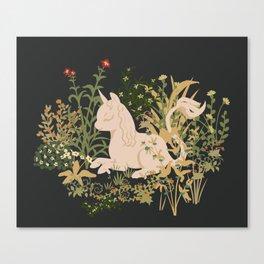 The Cutest Unicorn Canvas Print