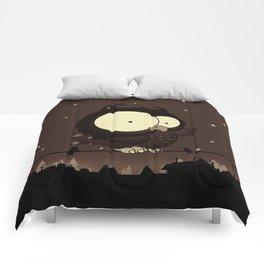 Little owl v2 Comforters