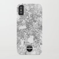 berlin iPhone & iPod Cases featuring BERLIN by Maps Factory