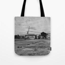 Urban Island Exploration Tote Bag