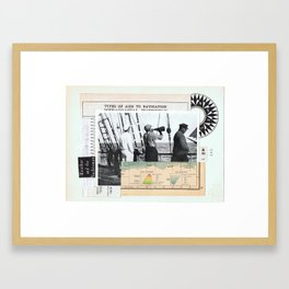 Alfa •— Framed Art Print