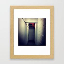 Exit MTL Framed Art Print