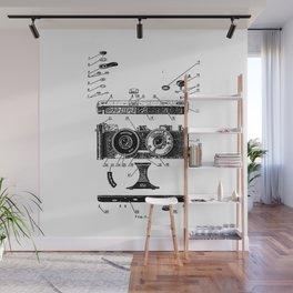 FED Stereo Camera Wall Mural